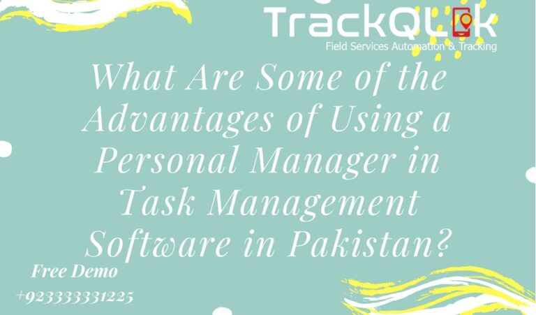 What Are Some of the Advantages of Using a Personal Manager in Task Management Software in Pakistan?