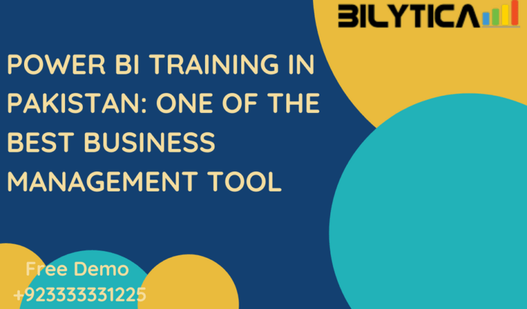 POWER BI Training in Pakistan: One of the best Business Management Tool